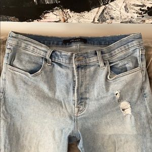 J Brand size 31 Maria high-rise skinny ankle jeans